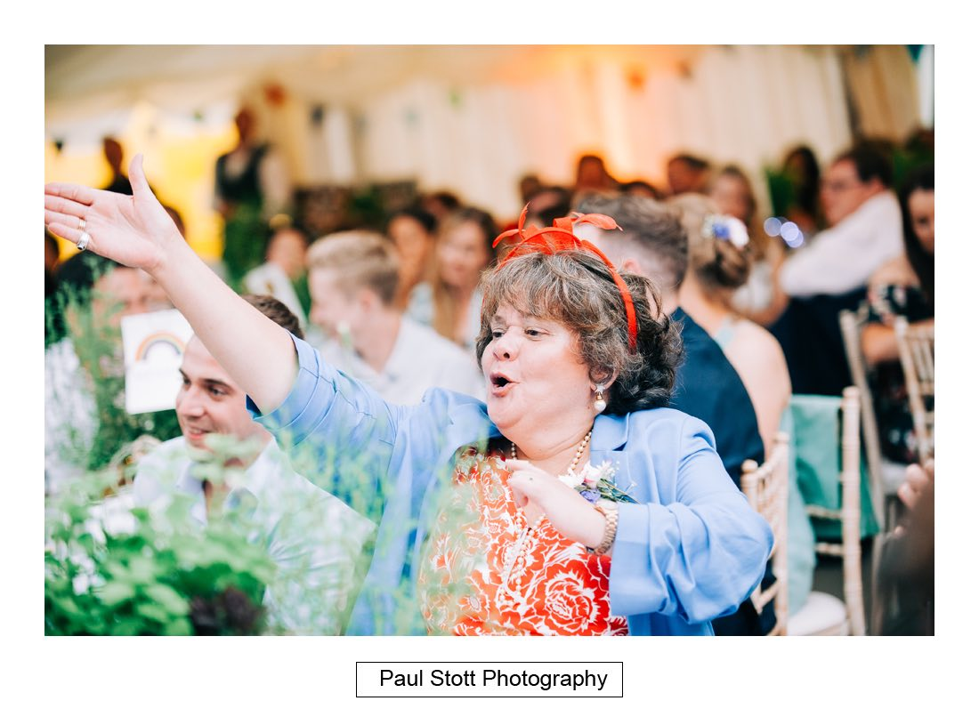 137 woodlands farm wedding speeches 017 - Wedding Photography Woodlands Farm  - Misha and Greg