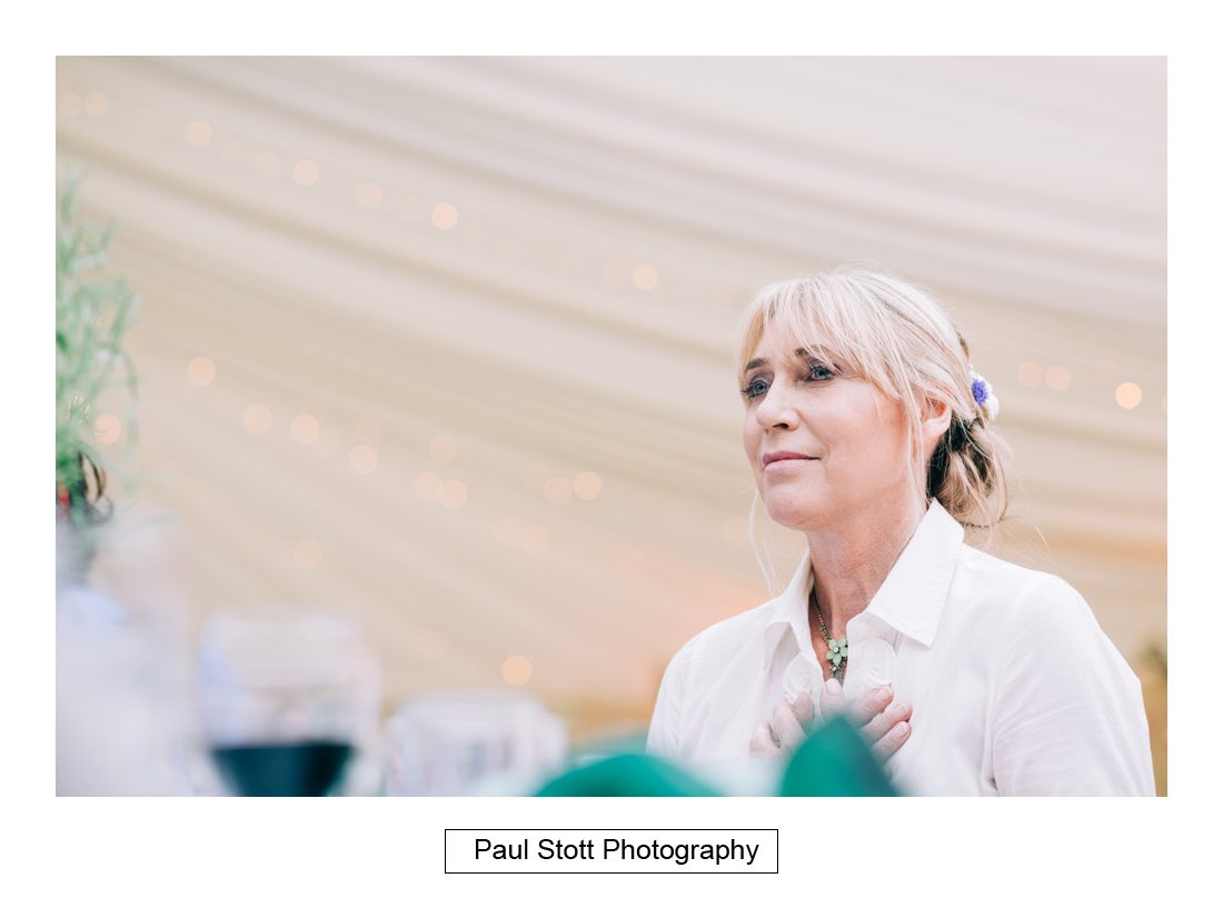 139 woodlands farm wedding speeches 019 - Wedding Photography Woodlands Farm  - Misha and Greg