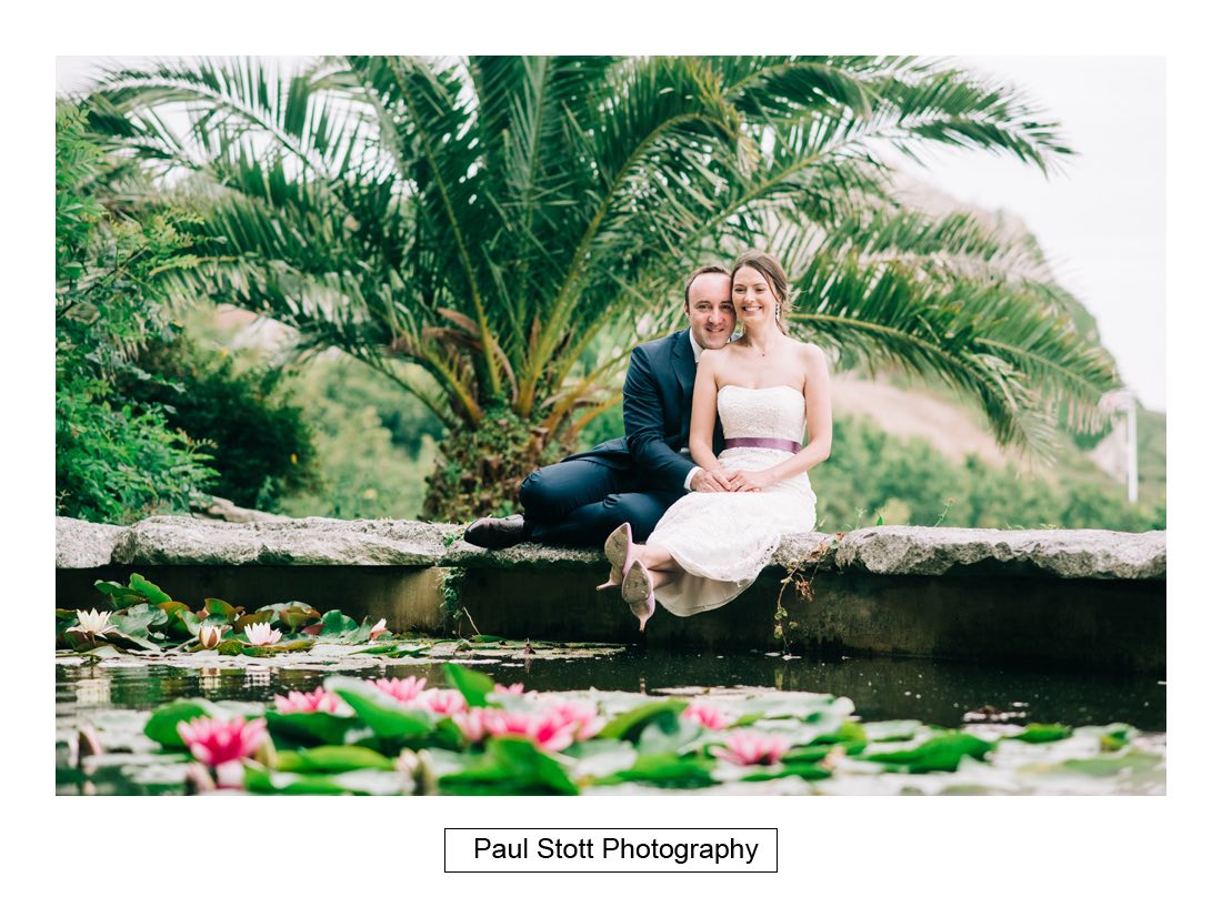 202 penn castle bride groom 004 - Wedding Photography Penn Castle - Alastair and Ksenia