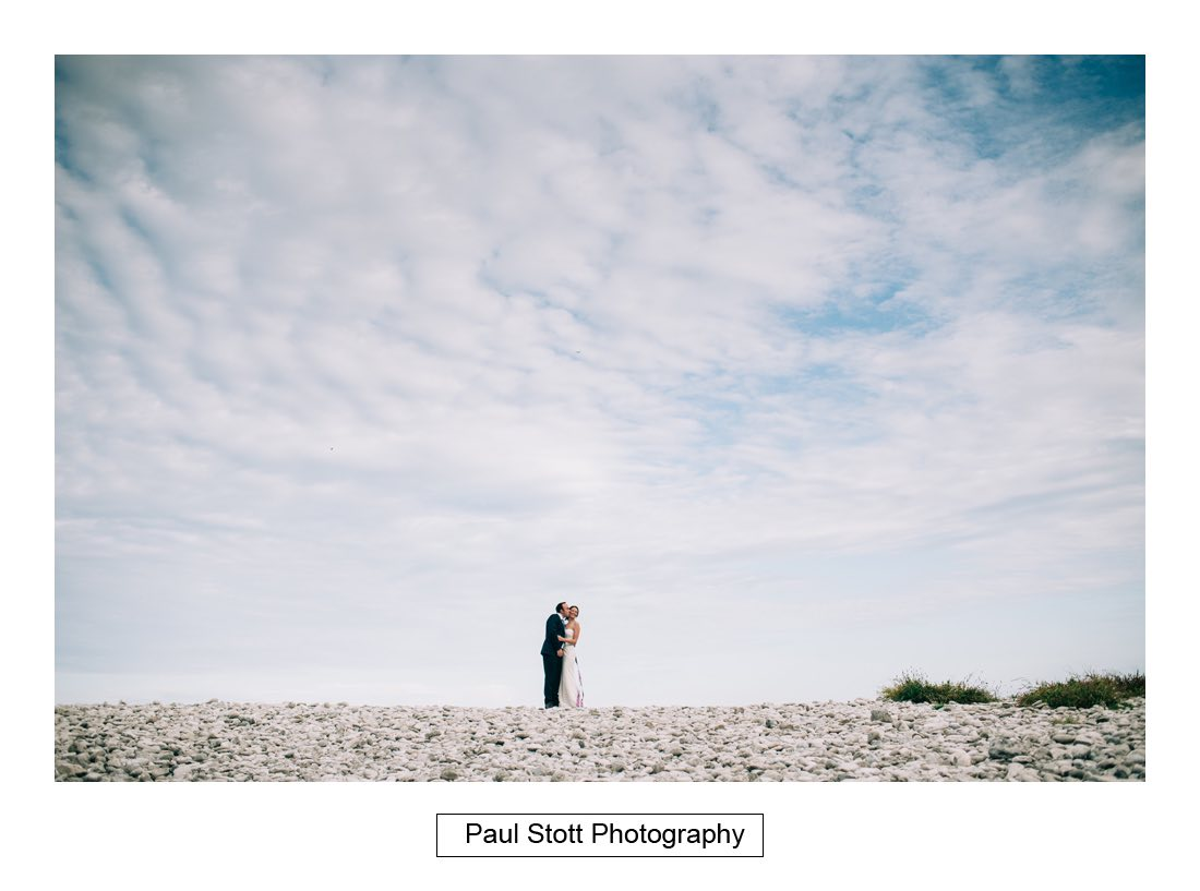 222 penn castle beach 001 - Wedding Photography Penn Castle - Alastair and Ksenia