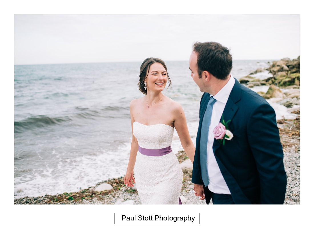 225 penn castle beach 004 - Wedding Photography Penn Castle - Alastair and Ksenia