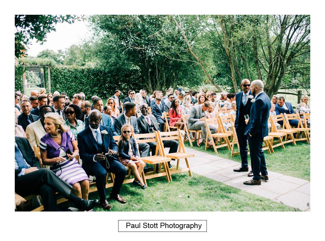 259 millbridge court wedding ceremony 001 1 - Wedding Photography Millbridge Court - Lucy and Reece