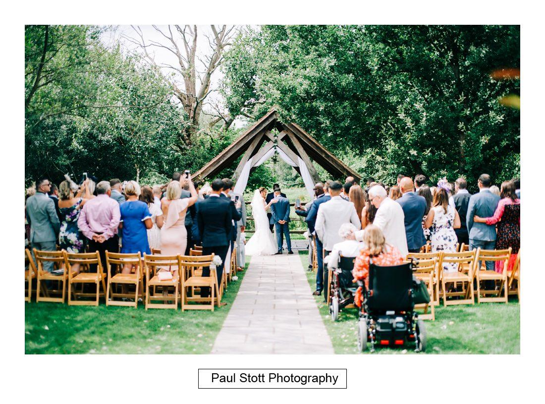 265 millbridge court wedding ceremony 007 1 - Wedding Photography Millbridge Court - Lucy and Reece
