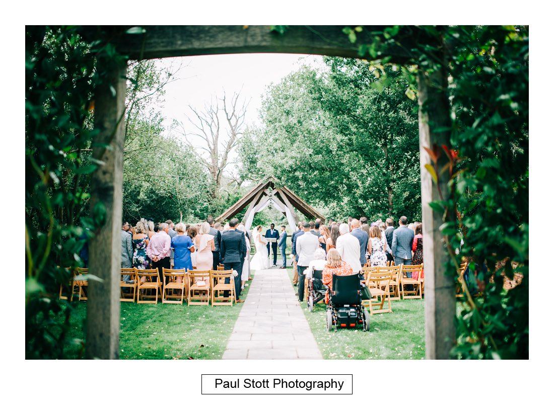 266 millbridge court wedding ceremony 008 1 - Wedding Photography Millbridge Court - Lucy and Reece