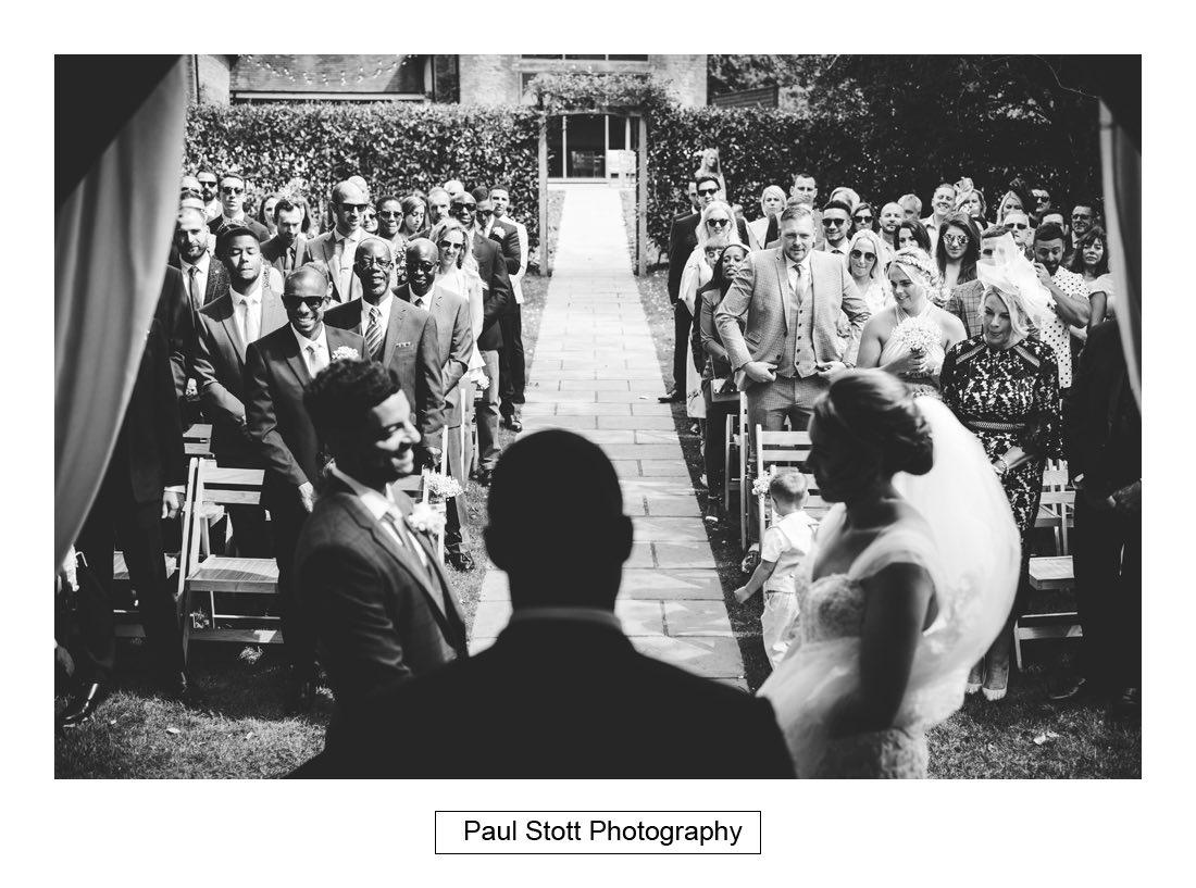 267 millbridge court wedding ceremony 009 1 - Wedding Photography Millbridge Court - Lucy and Reece