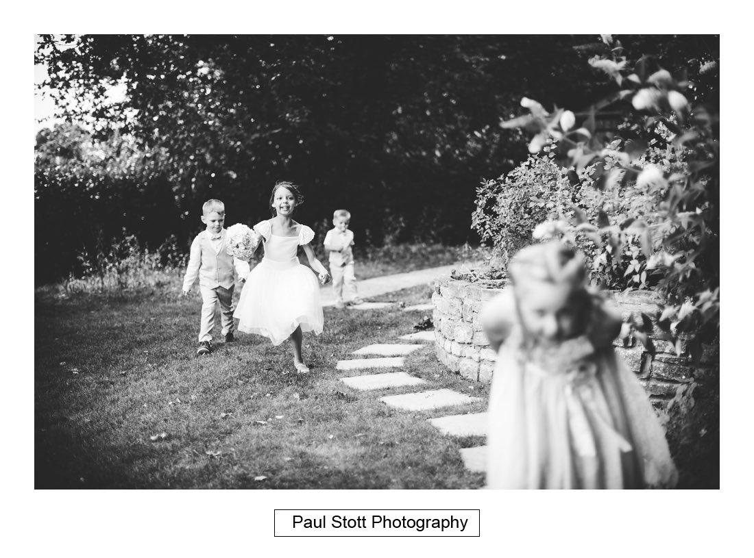 281 millbridge court children playing 001 - Wedding Photography Millbridge Court - Lucy and Reece