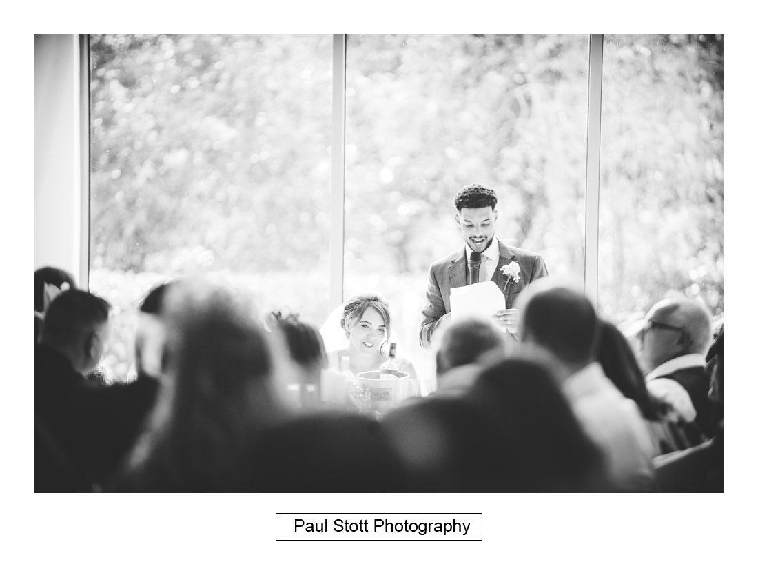 287 millbridge court wedding speeches 002 - Wedding Photography Millbridge Court - Lucy and Reece