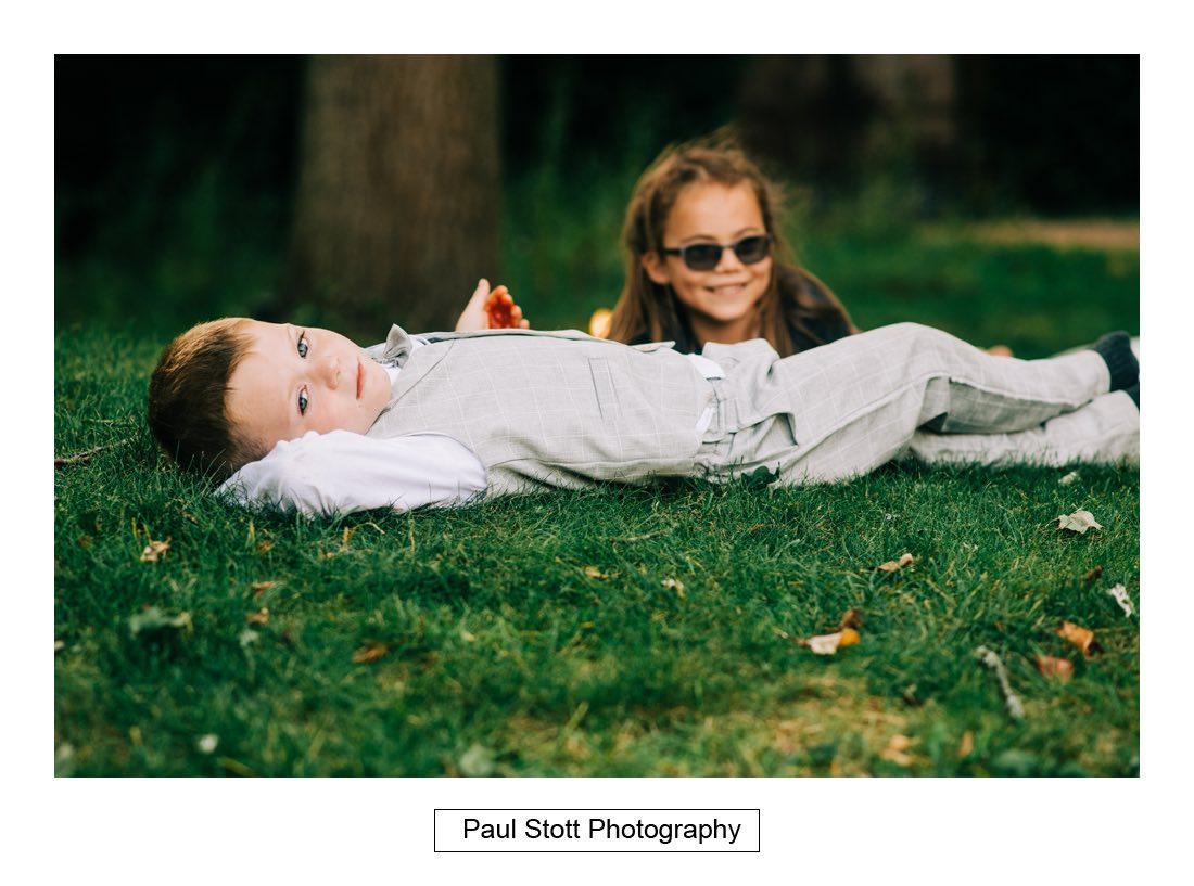 295 millbridge court children playing 004 - Wedding Photography Millbridge Court - Lucy and Reece