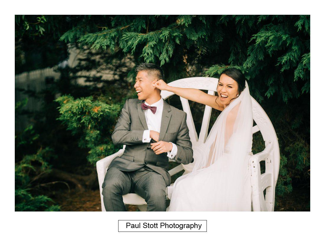 441 high house weddings bride groom 006 - Wedding Photography High House - Cam and Mike